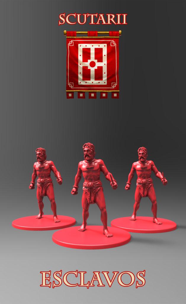 Gladiatoris - Esclavos rojos (Scutarii)