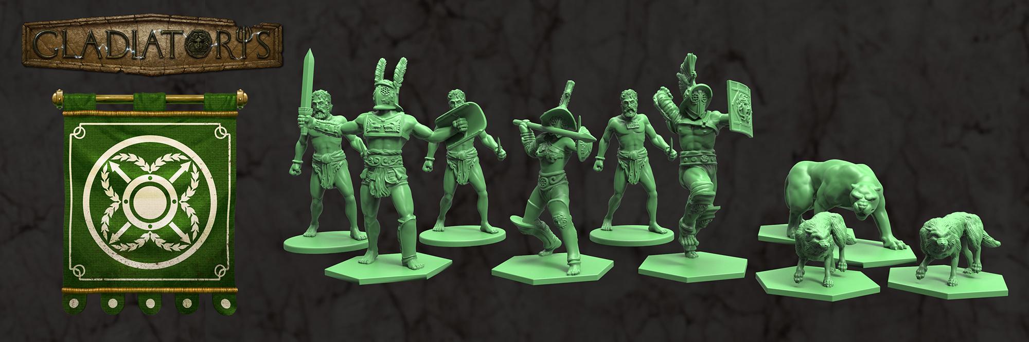 Gladiatoris - Parmularii