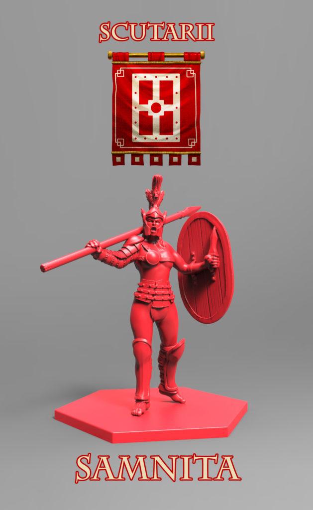 Gladiatoris - Samnita (Scutarii)