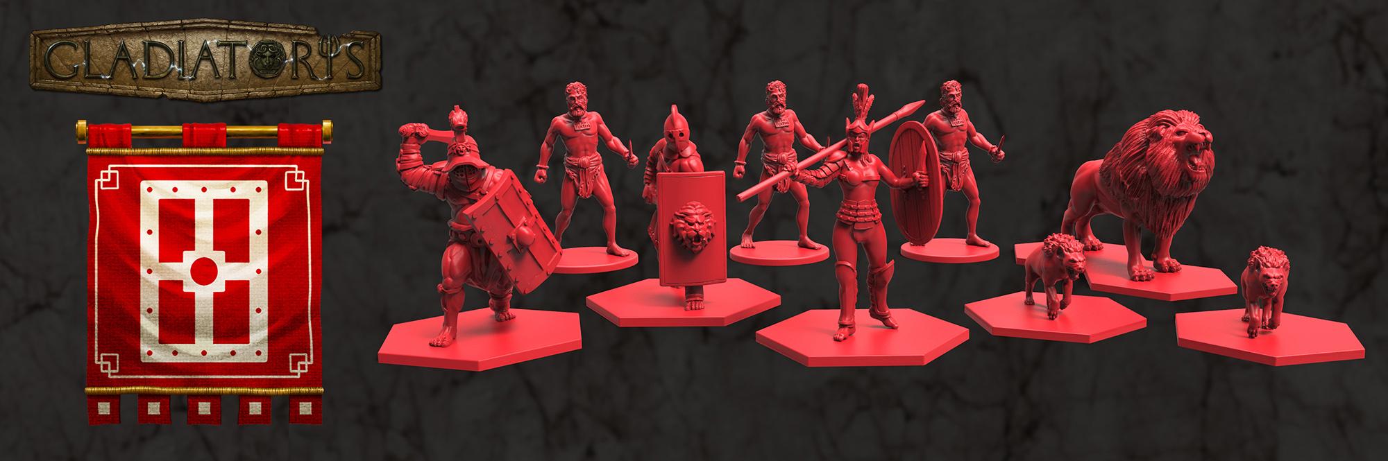 Gladiatoris - Scutarii