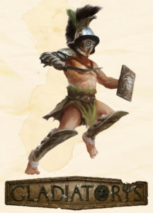 Gladiatoris - Thraex (Parmularii)