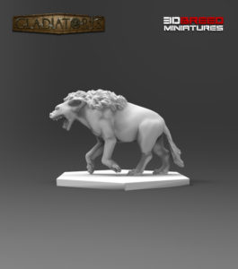 Gladiatoris - Hyena in process
