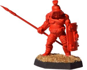 Gladiatoris - Samnis prototype (Foundry Miniatures, modified)