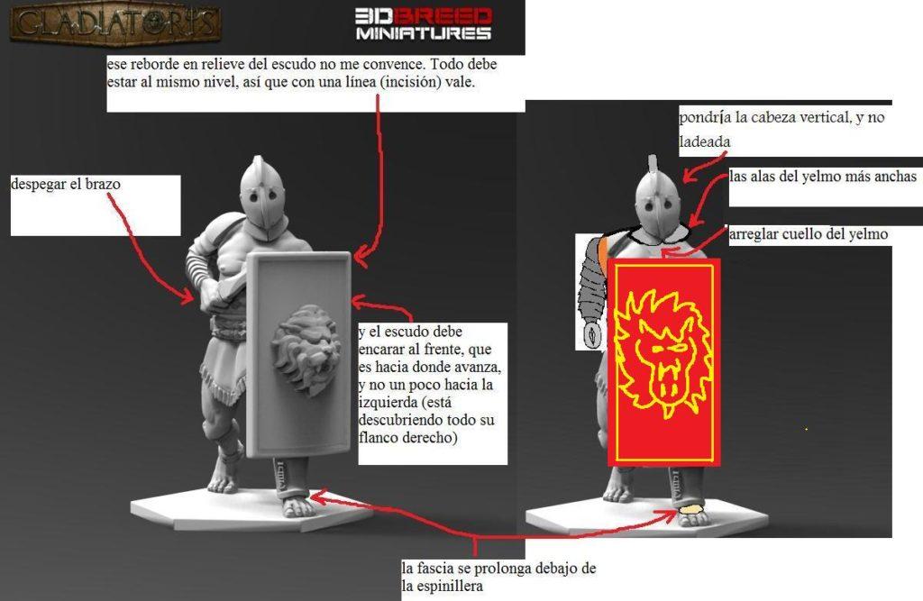Gladiatoris - corrected by Alfonso Mañas Secutor