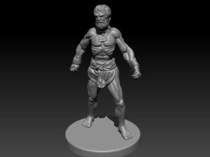 Gladiatoris - Slave 3D in process