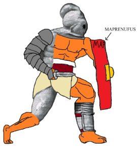 Gladiator - Secutor Maprenufus corrected by Alfonso Mañas (January 2016)