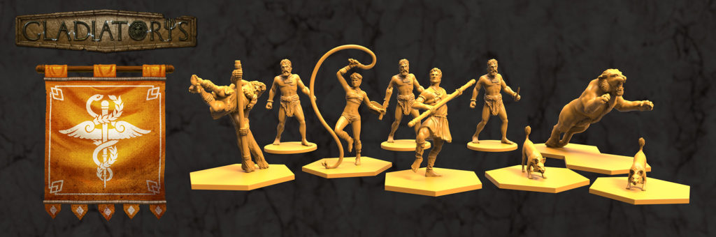 Gladiatoris - Petauristae (Acrobats)