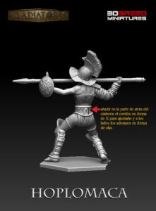 Gladiatoris - Hoplomaca 3D corrected by Alfonso Mañas