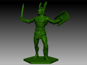 Gladiatoris - Provocator 3D in process (October 2014)