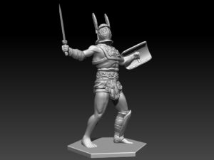 Gladiatoris - Provocator 3D in process (3DBreed)