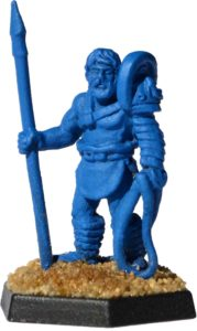 Gladiatoris - Laquearius del prototipo (Foundry Miniatures, modificada)