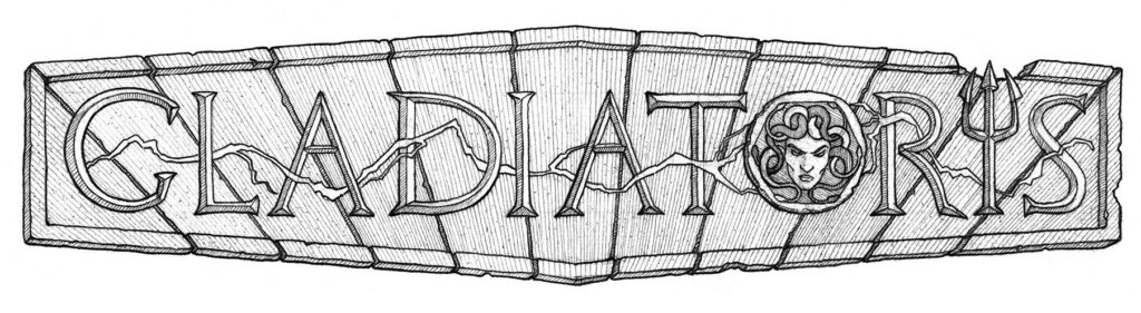 Gladiatoris - Sketch of the logo David early (August 2015)