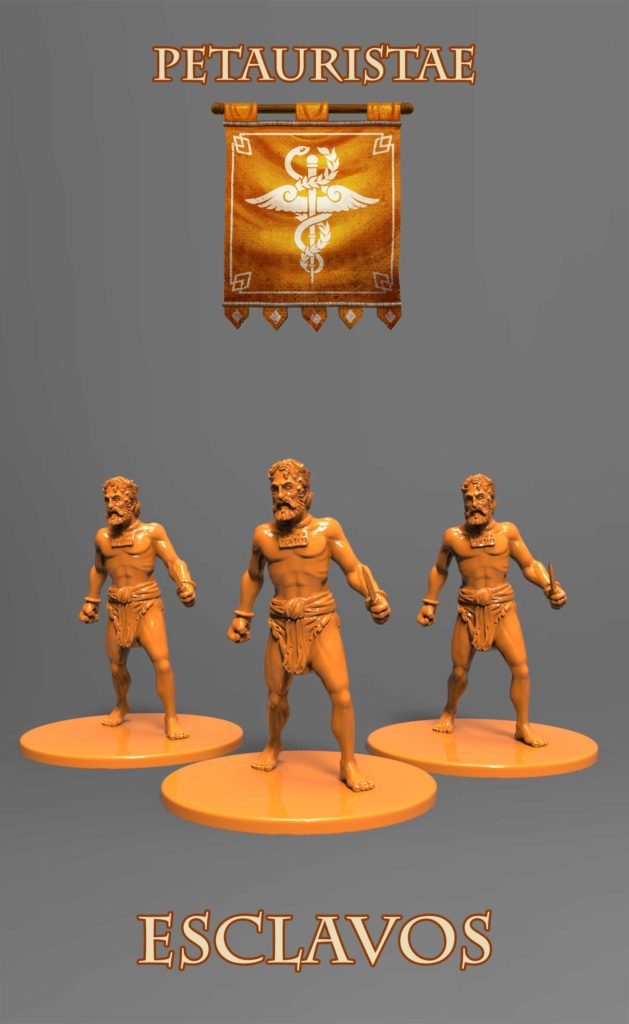 Gladiatoris - Esclavos naranjas (Petauristae)