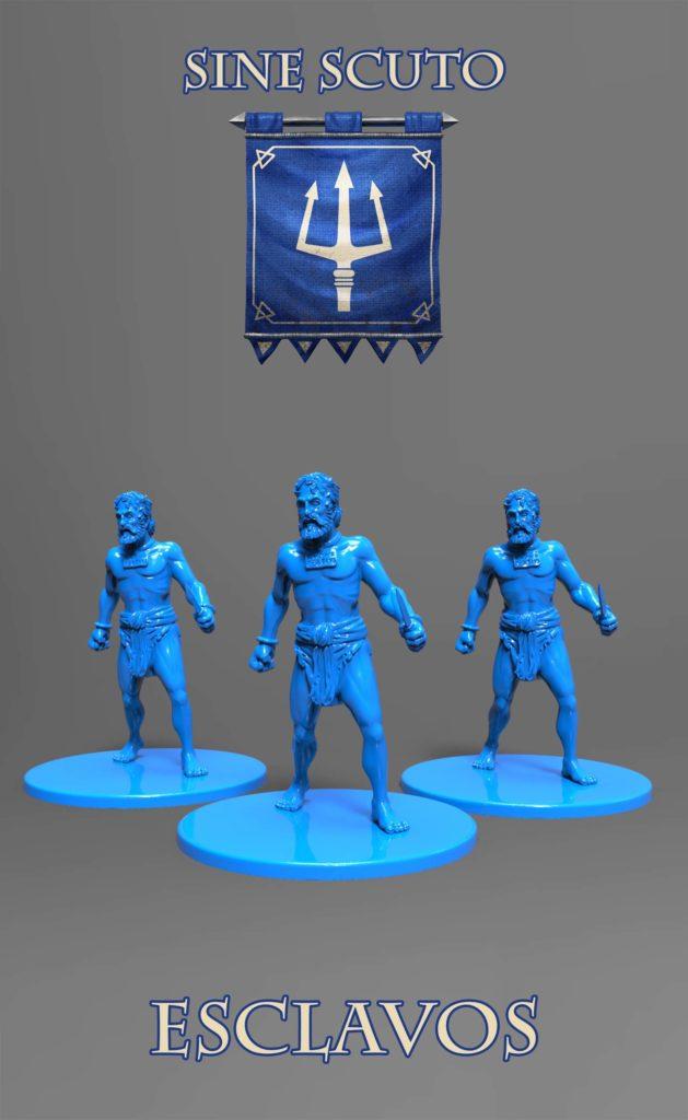 Gladiatoris - Esclavos azules (Sine Scutum)
