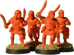 Gladiatoris - slaves oranges of the prototype (Foundry Miniatures, modified)