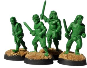 Gladiatoris - Esclavos verdes del prototipo