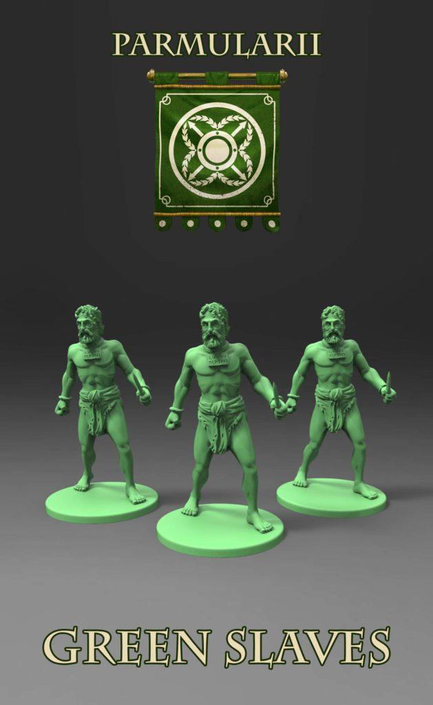 Gladiatoris - Green Slaves (Parmularii)