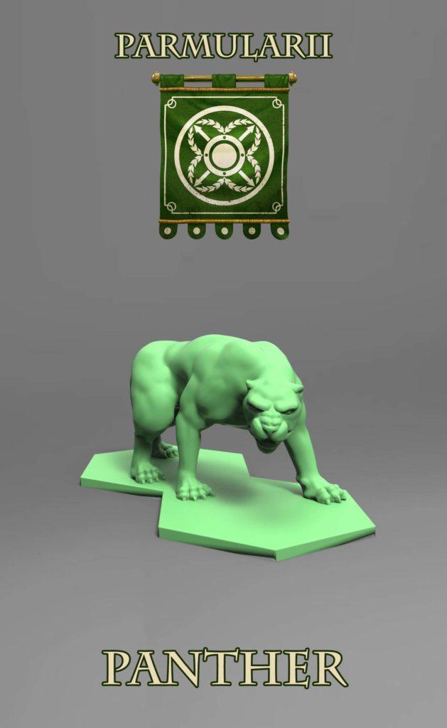 Gladiatoris - Panther (Parmularii)