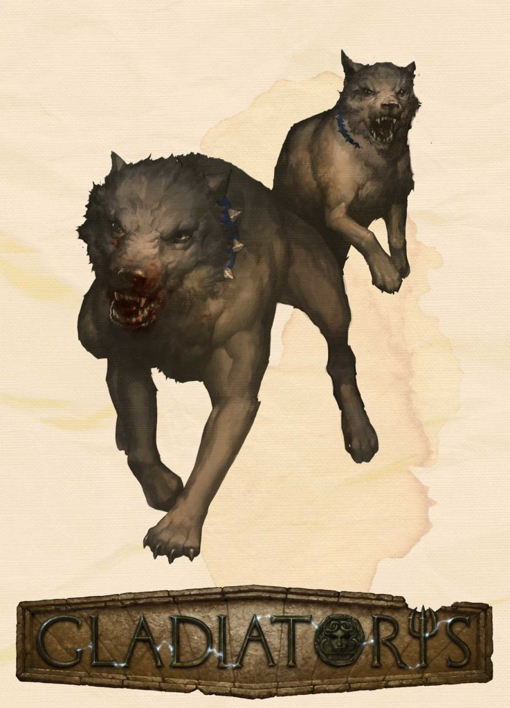 Gladiatoris - dogs of Presa (Sine Scutum)