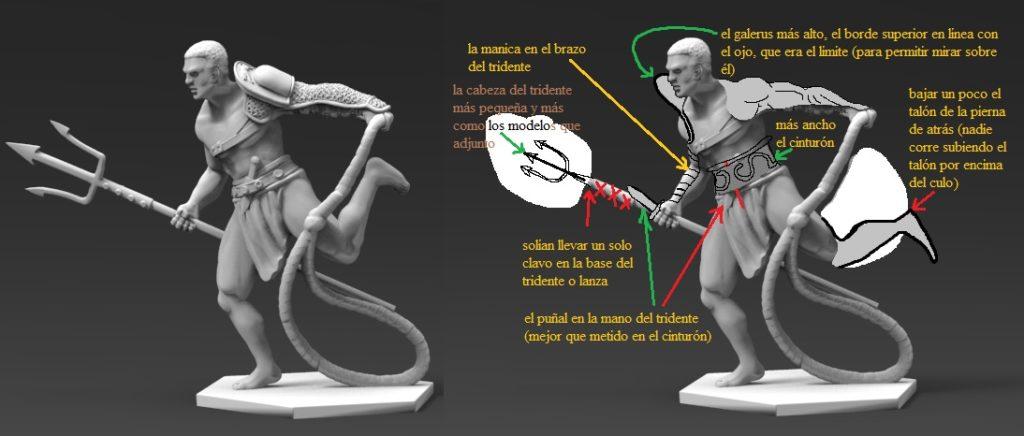 Gladiatoris - Laquearius corregido por Alfonso Mañas
