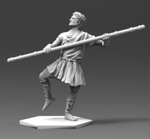 Gladiatoris - Lusitor 3D en proceso