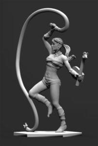 Gladiatoris - Paegniaria 3D en proceso
