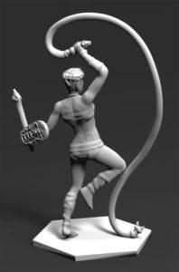 Gladiatoris - Paegniaria 3D in process