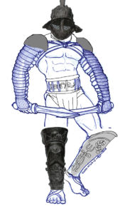 Gladiatoris - Dimachaerus corregido por Alfonso Mañas