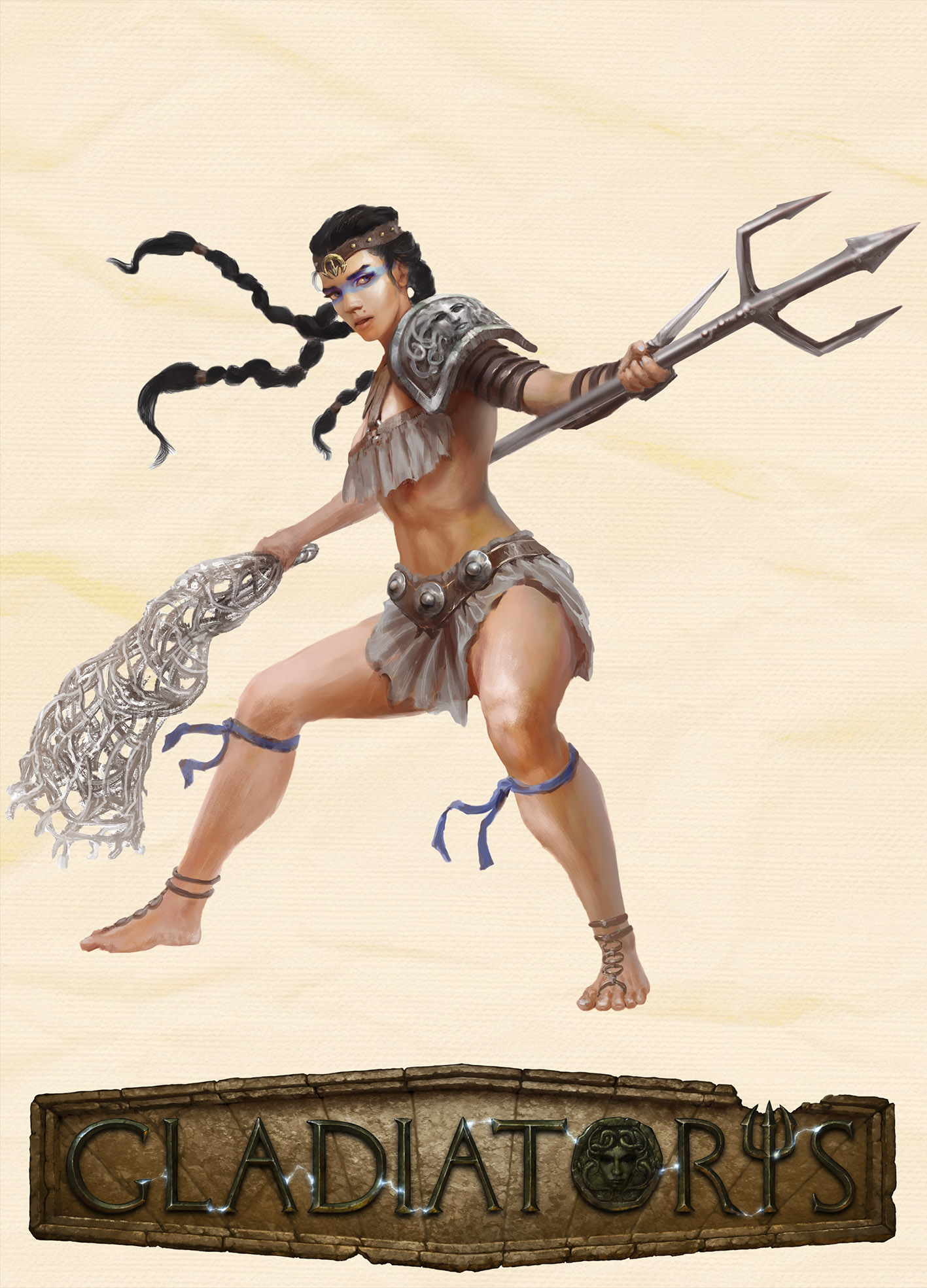 Gladiatoris - Retiaria (Sine Scuto)