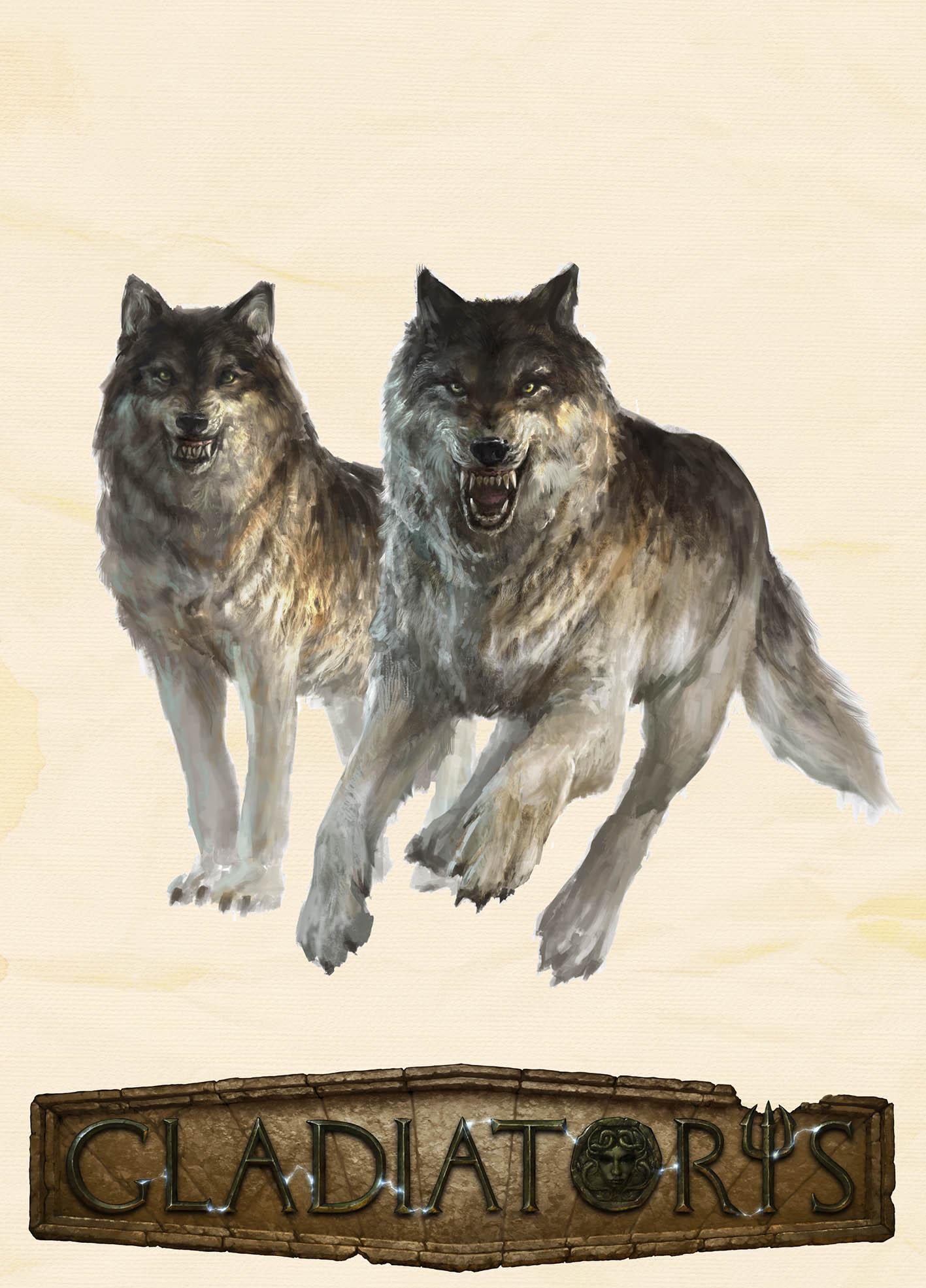 Gladiatoris - Lobos (Parmularii)